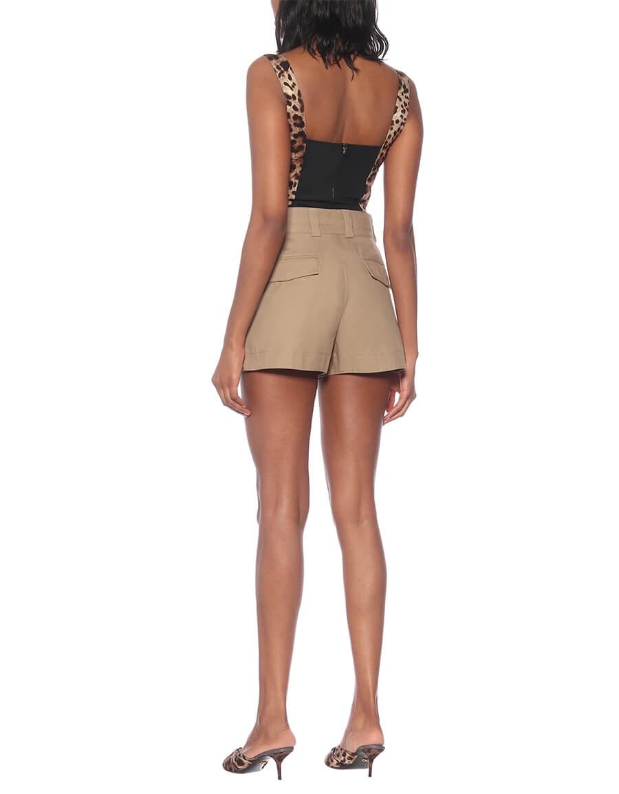 DOLCE & GABBANA Tailored cotton shorts