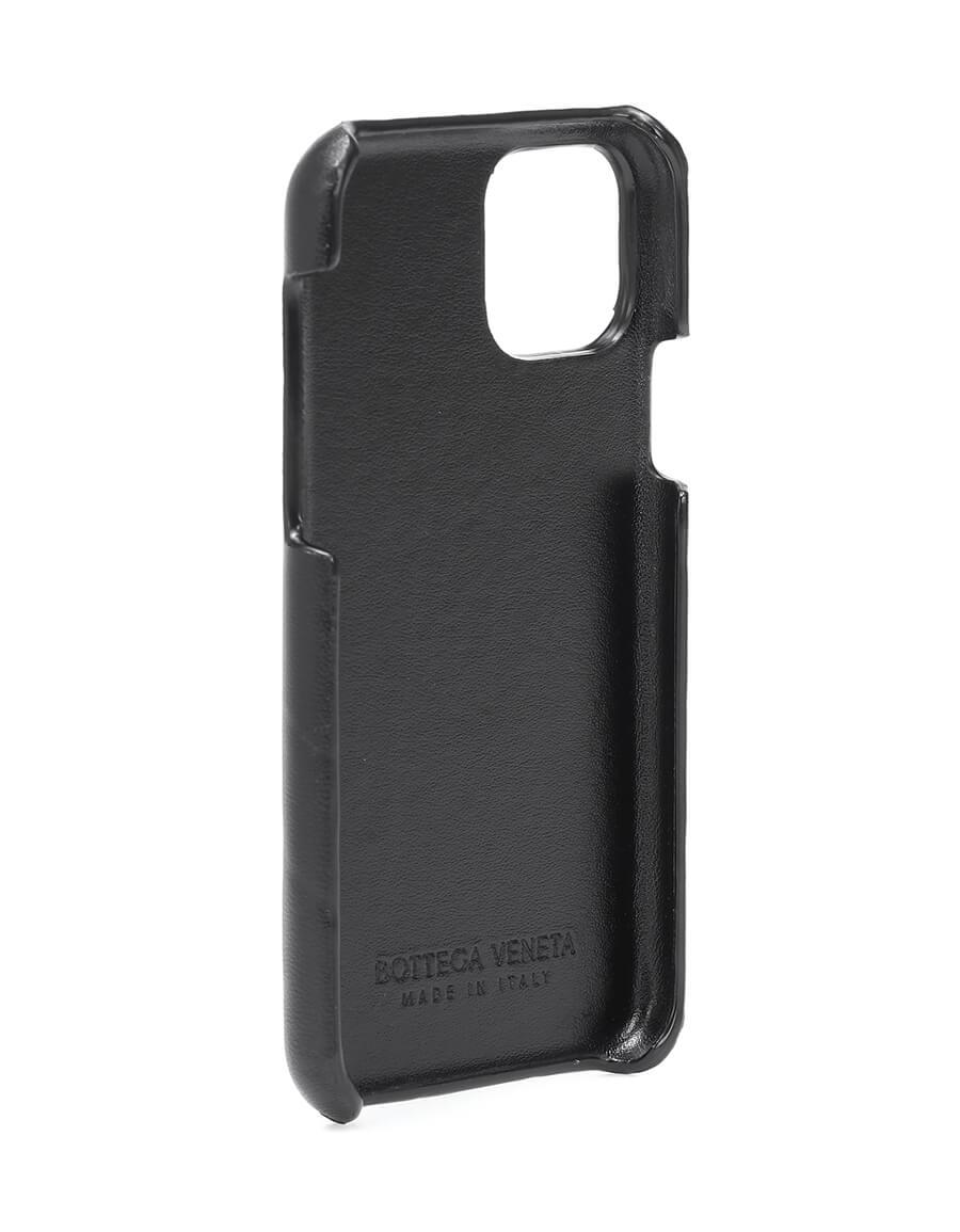 BOTTEGA VENETA Intrecciato leather iPhone 11 Pro case