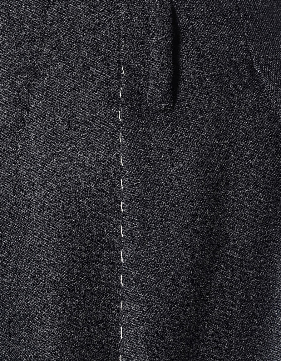 MAISON MARGIELA High rise wide leg wool pants