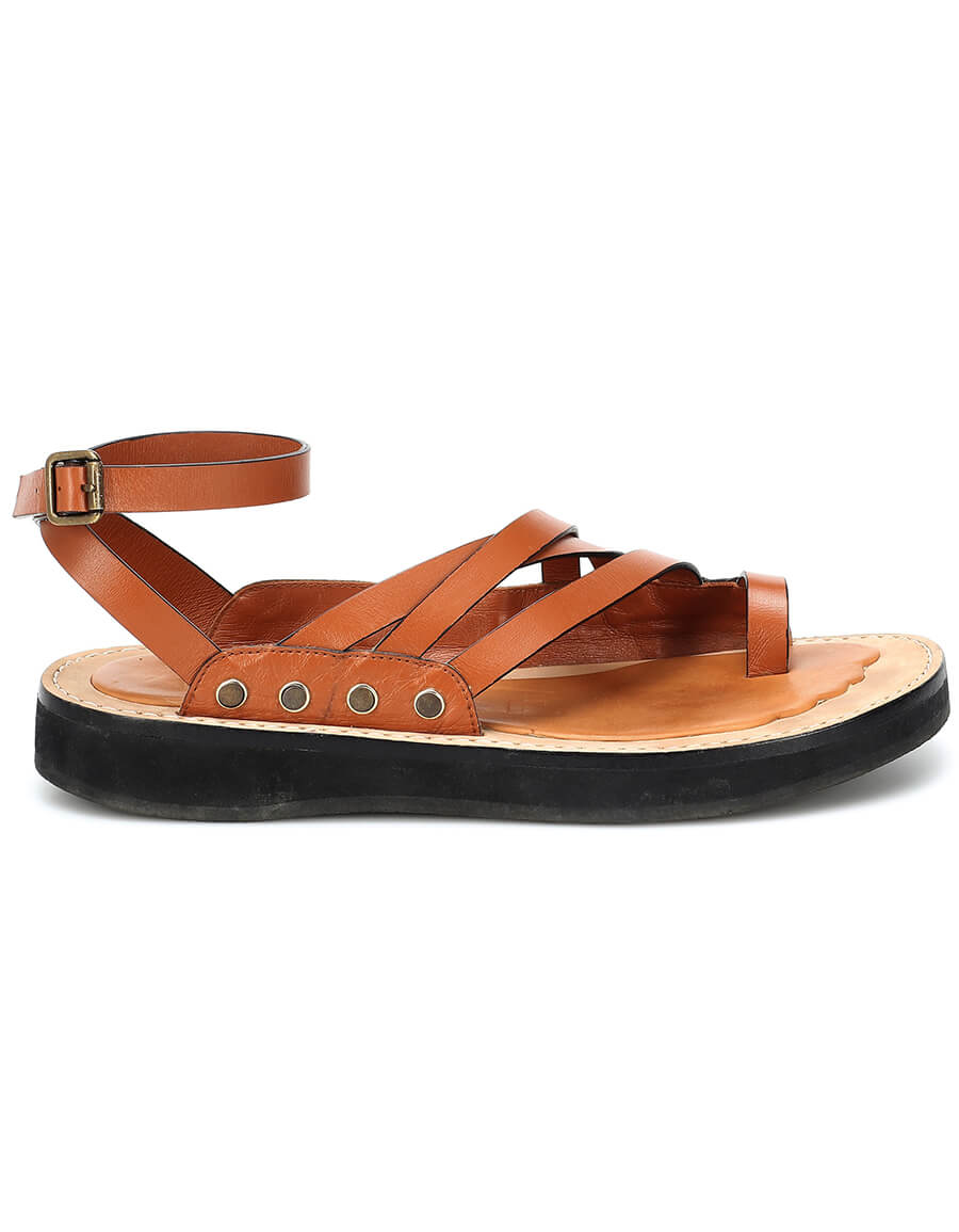 LOEWE Leather sandals · VERGLE