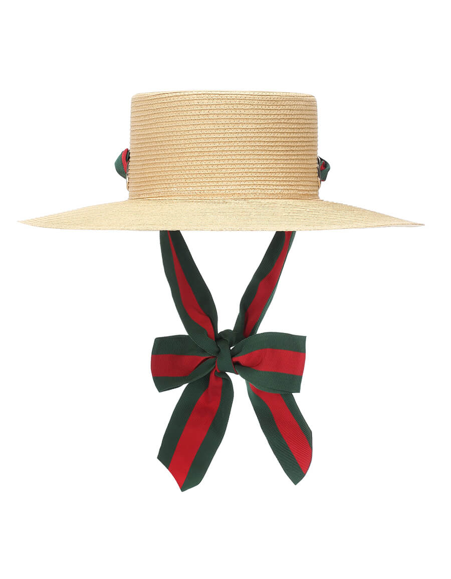 GUCCI Paper straw hat