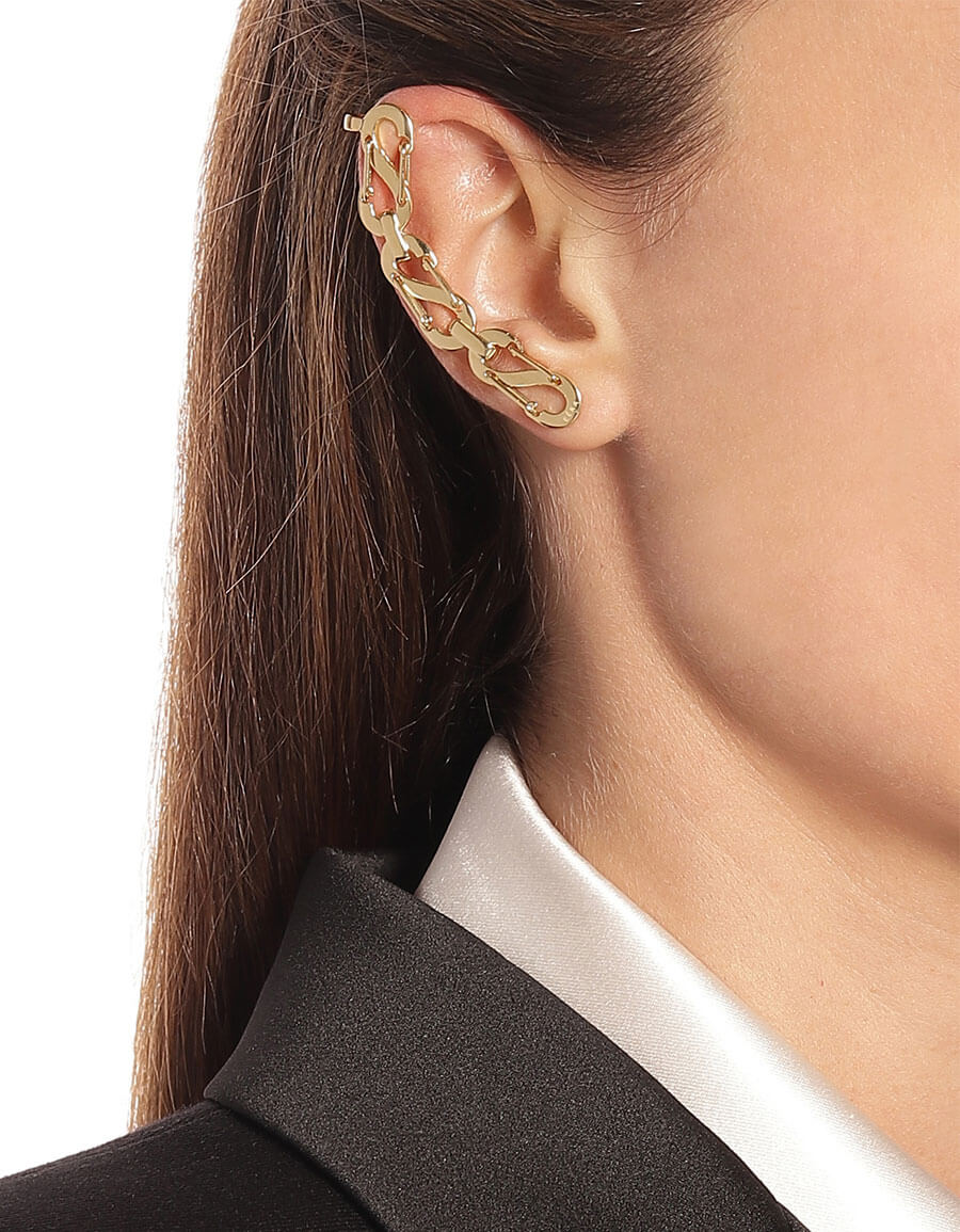 EERA Exclusive to Mytheresa – Romy 18kt yellow gold and white gold ear cuff