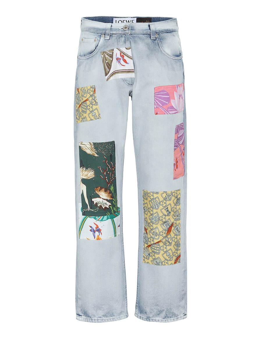 LOEWE Paula's Ibiza high rise straight jeans