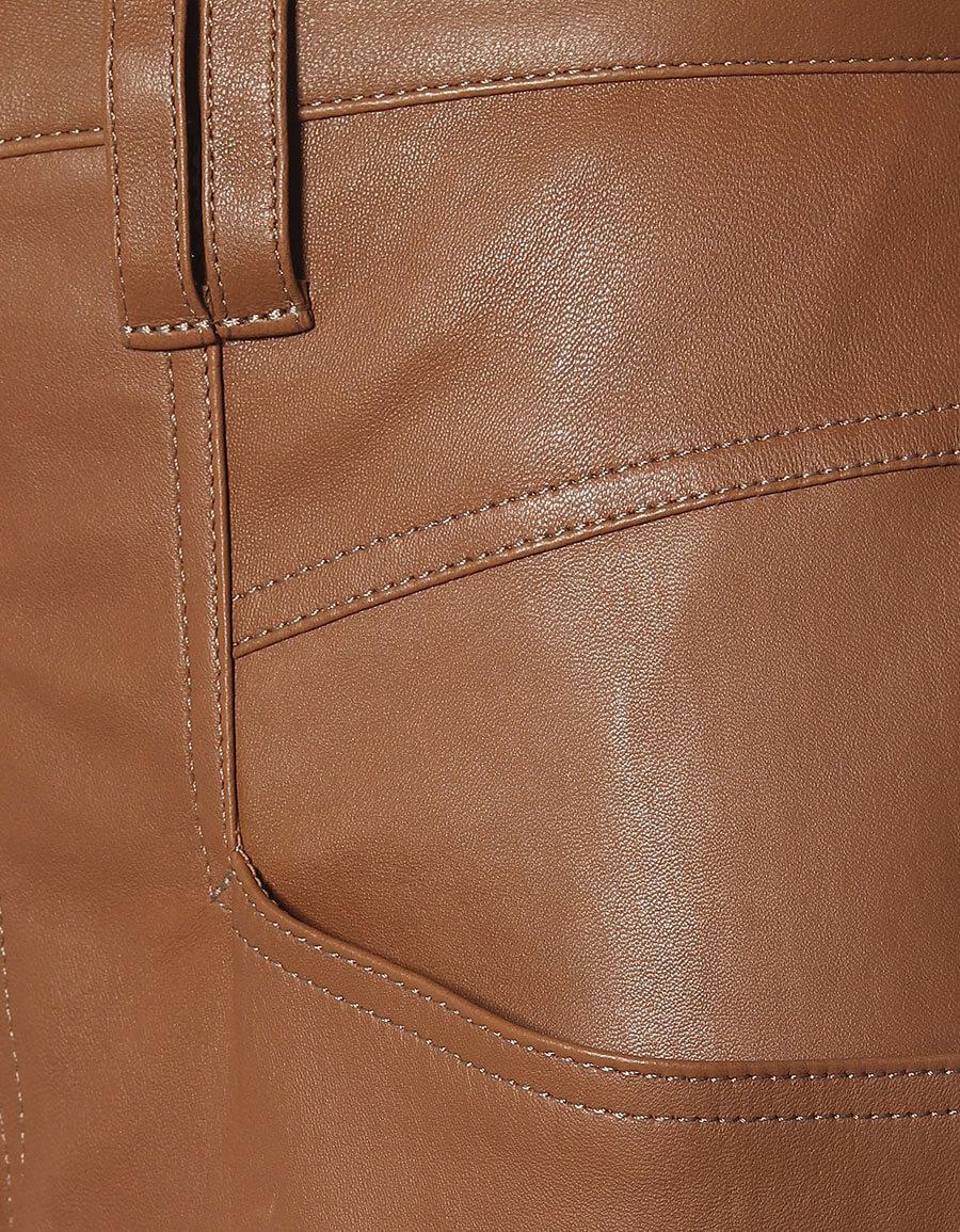 ISABEL MARANT Badeloisa leather carrot pants