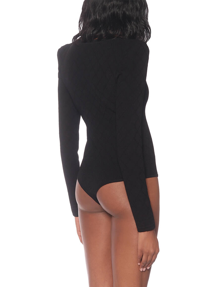 BALMAIN Jersey bodysuit