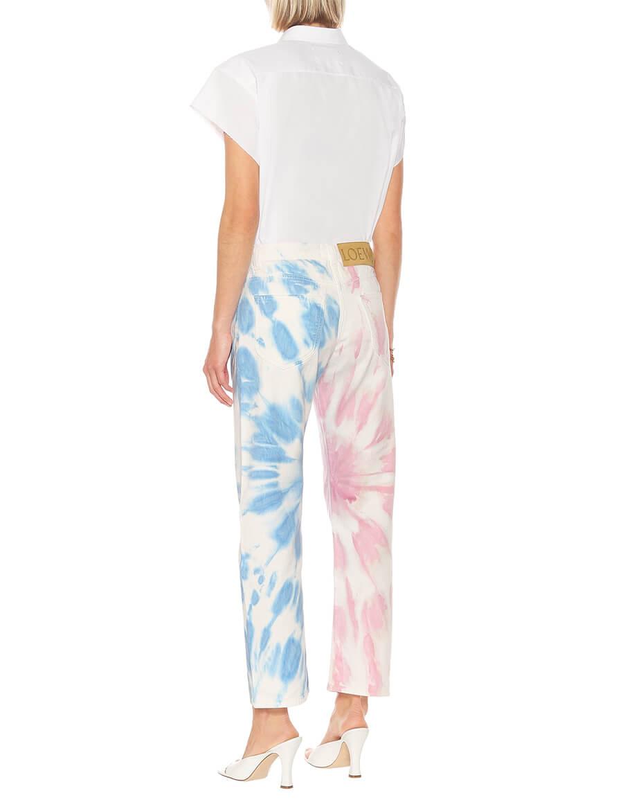 LOEWE Paula's Ibiza tie dye straight jeans