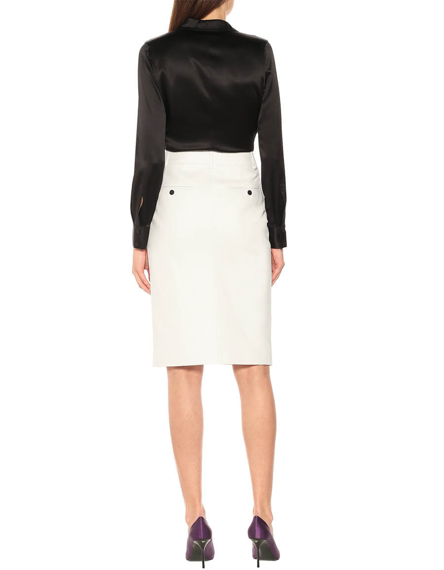 TOM FORD Leather pencil skirt
