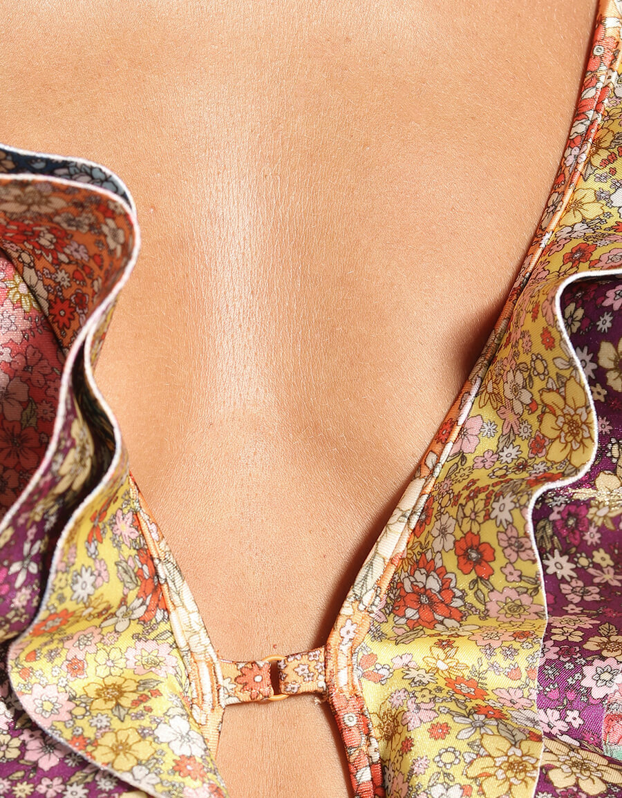 ZIMMERMANN Carnaby Waterfall floral swimsuit