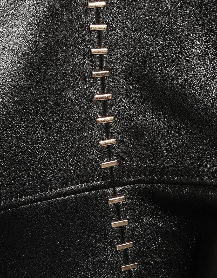 ALEXANDER MCQUEEN Studded leather blazer