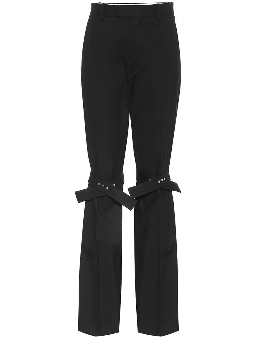 BOTTEGA VENETA High rise stretch pants