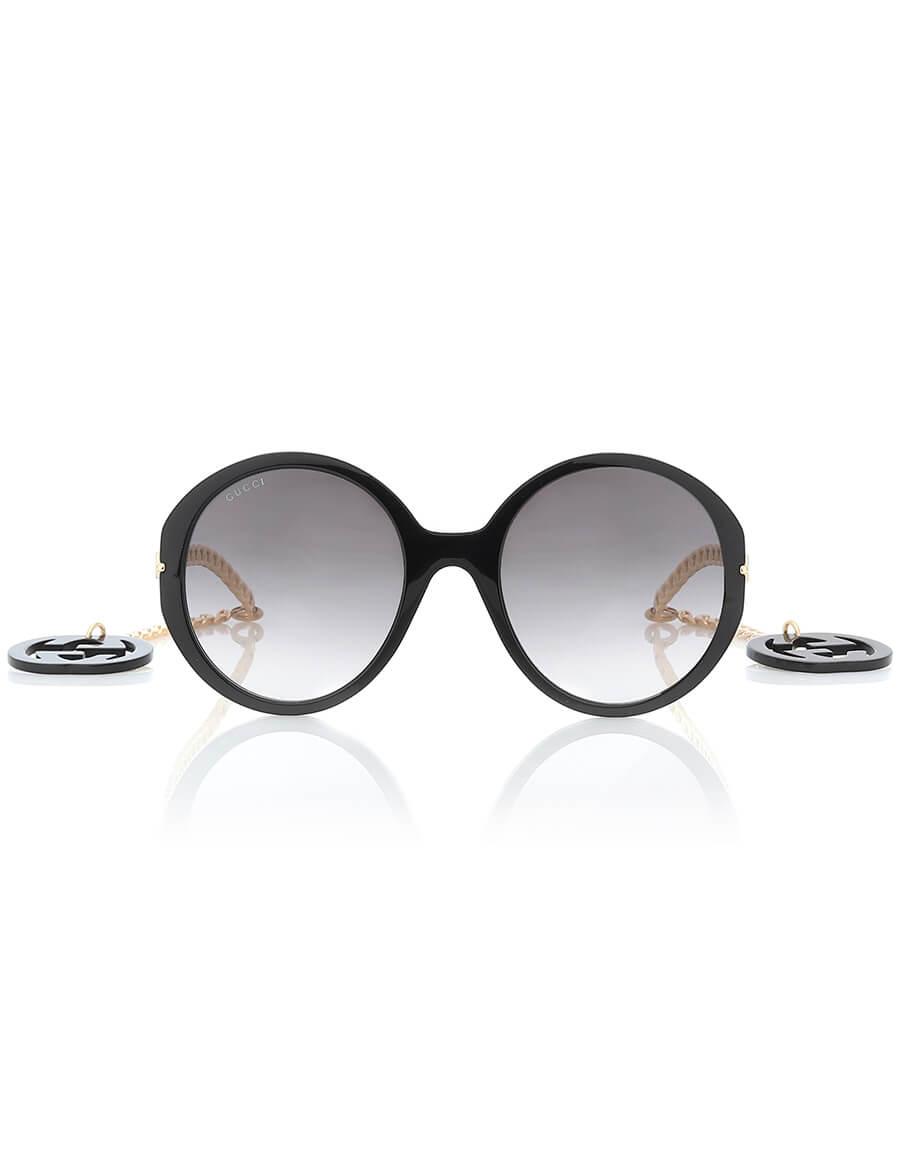 GUCCI GG oversized round sunglasses