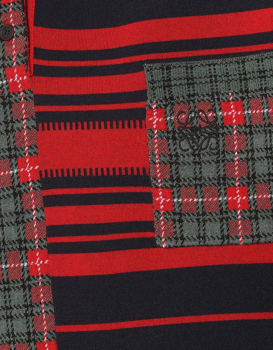 LOEWE Wool blend jacquard sweater