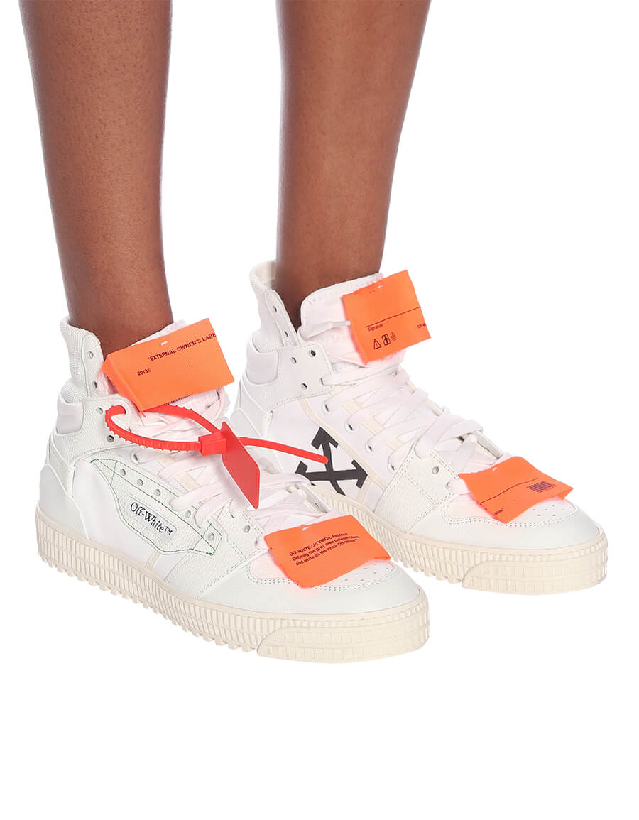 OFF WHITE High 3.0 canvas sneakers
