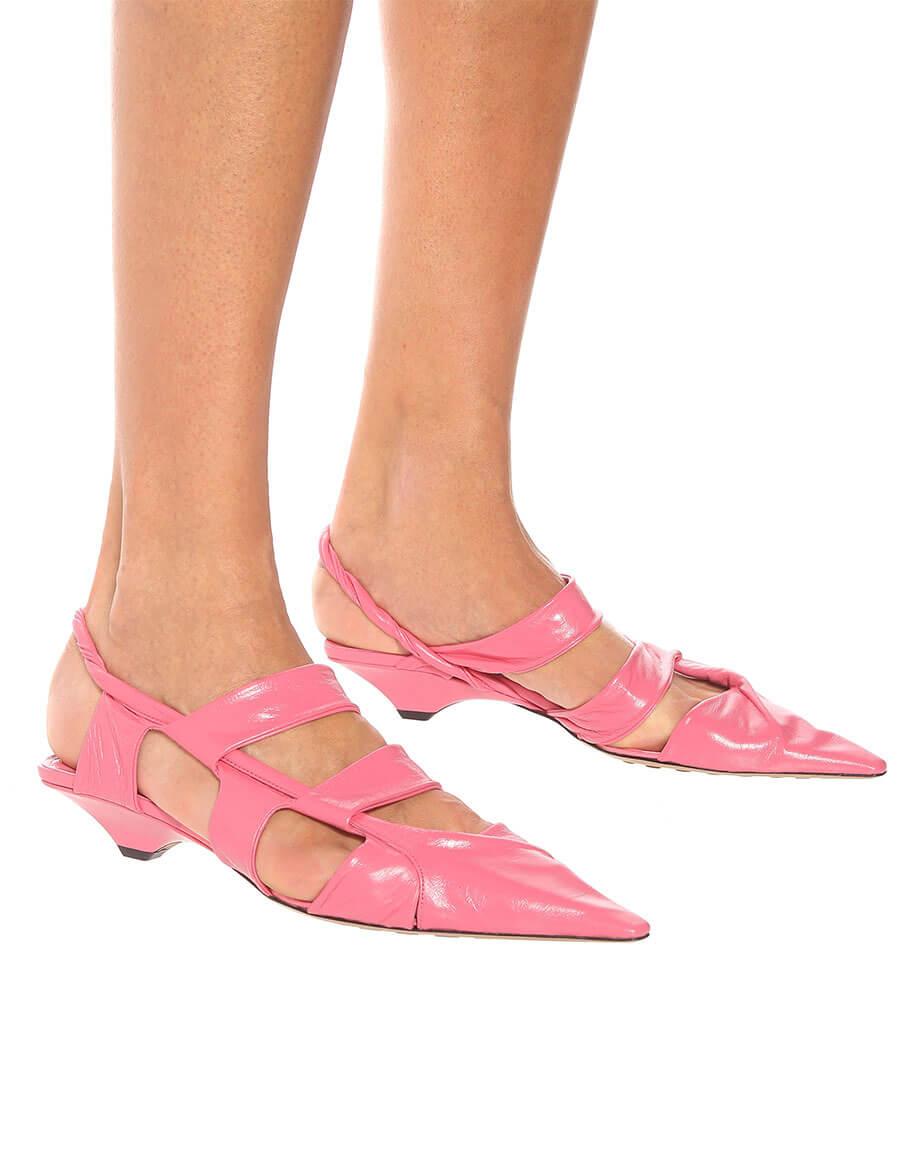 BOTTEGA VENETA BV Point leather sandals