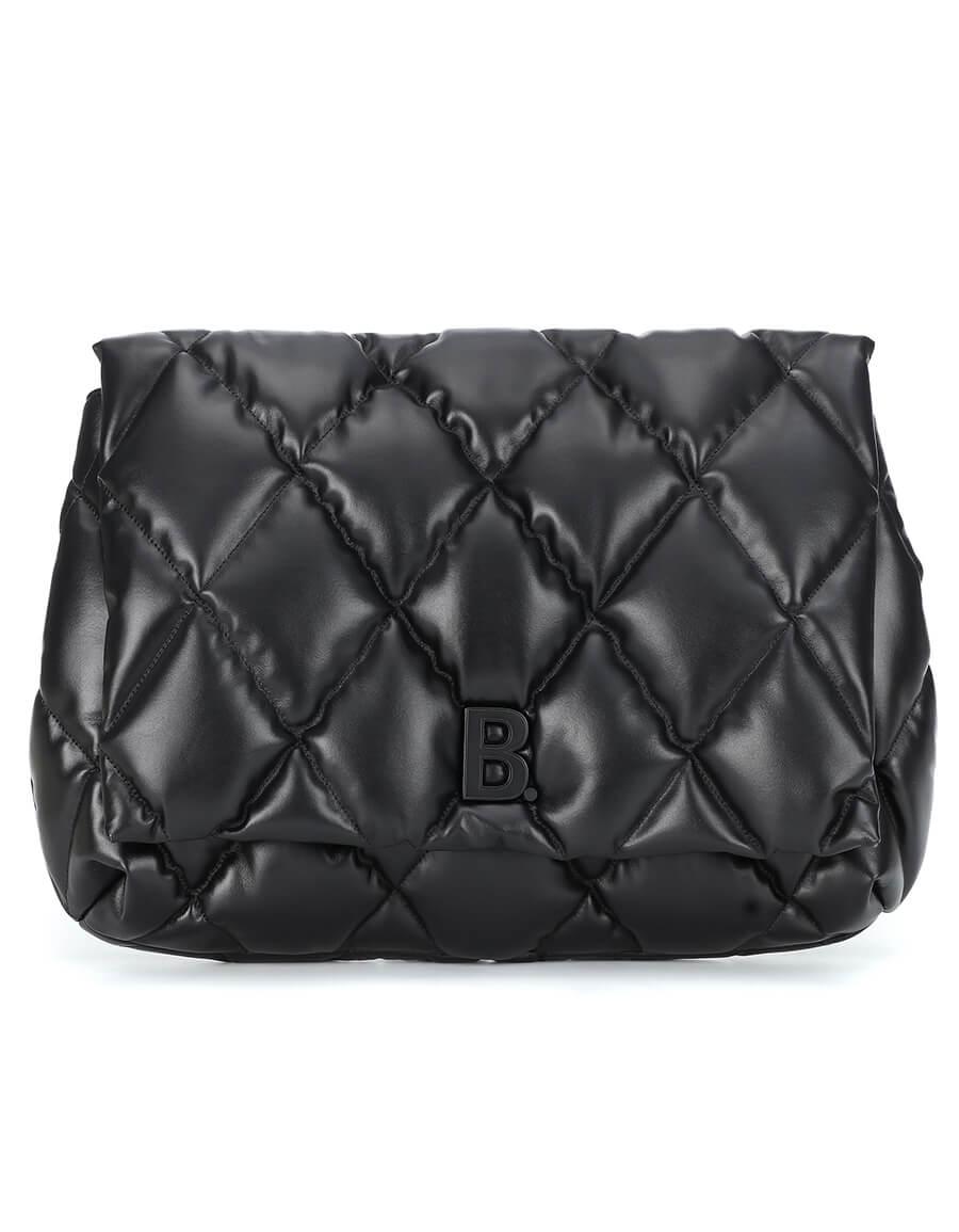 BALENCIAGA Touch Medium leather clutch