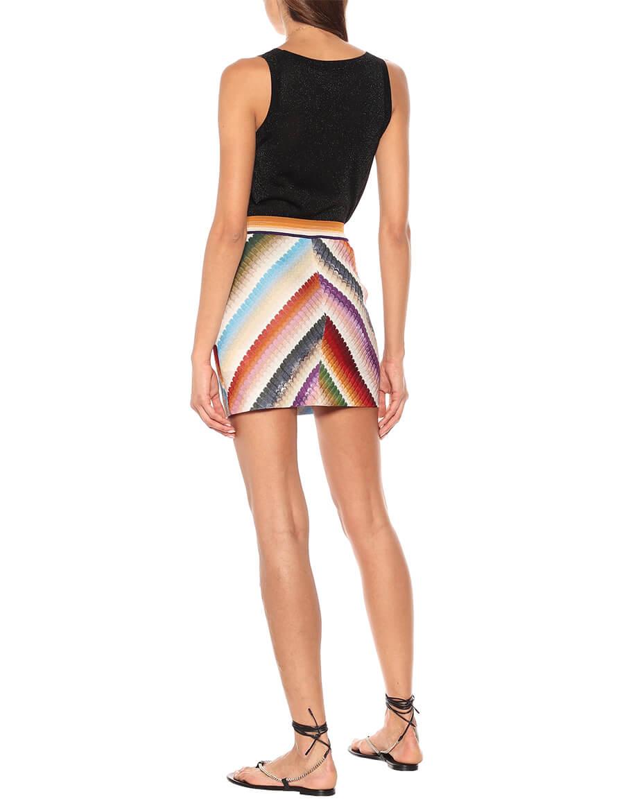 MISSONI Striped miniskirt
