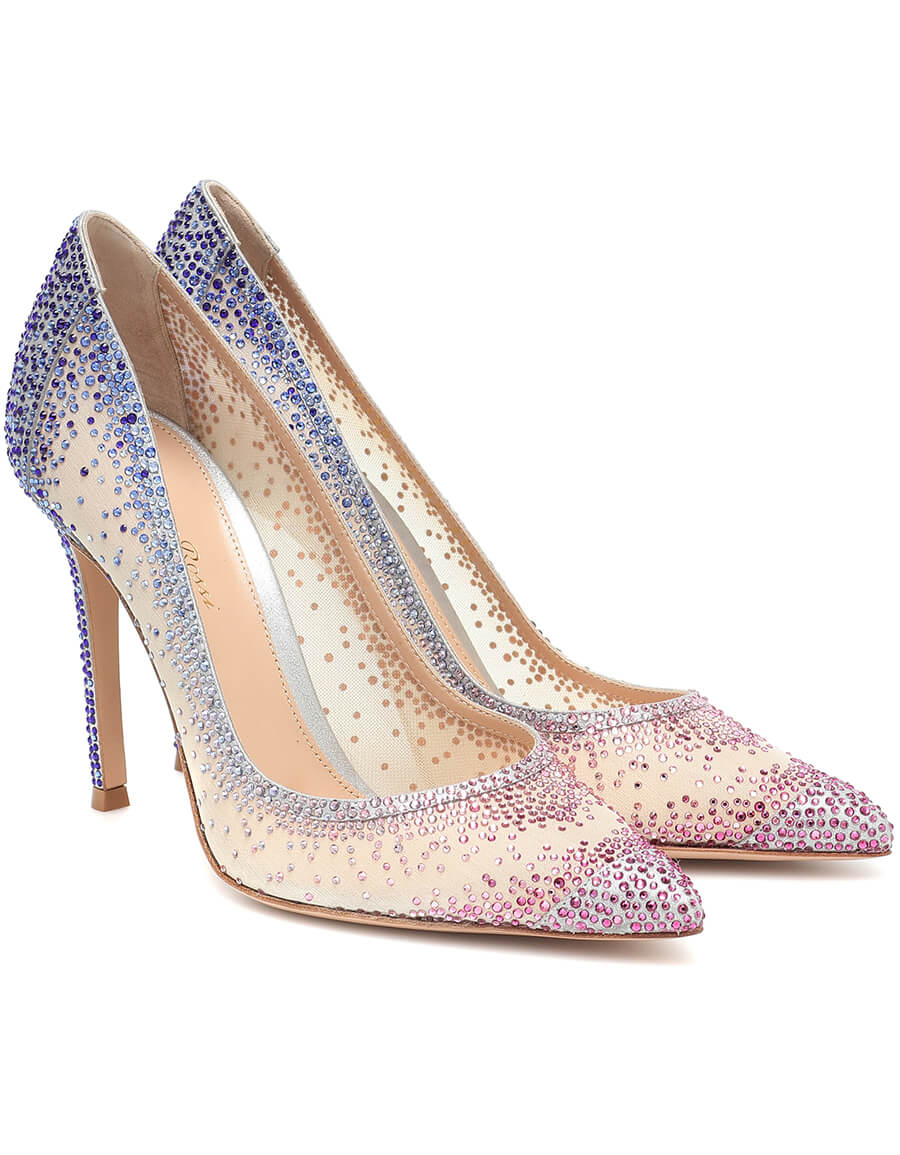 GIANVITO ROSSI Rania 105 embellished pumps