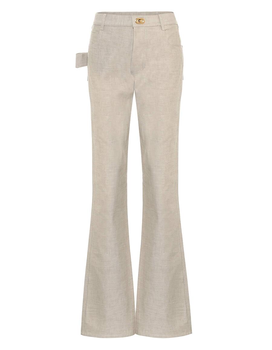 BOTTEGA VENETA High rise bootcut jeans