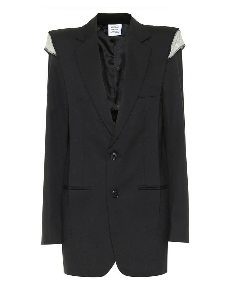 VETEMENTS Oversized wool blazer