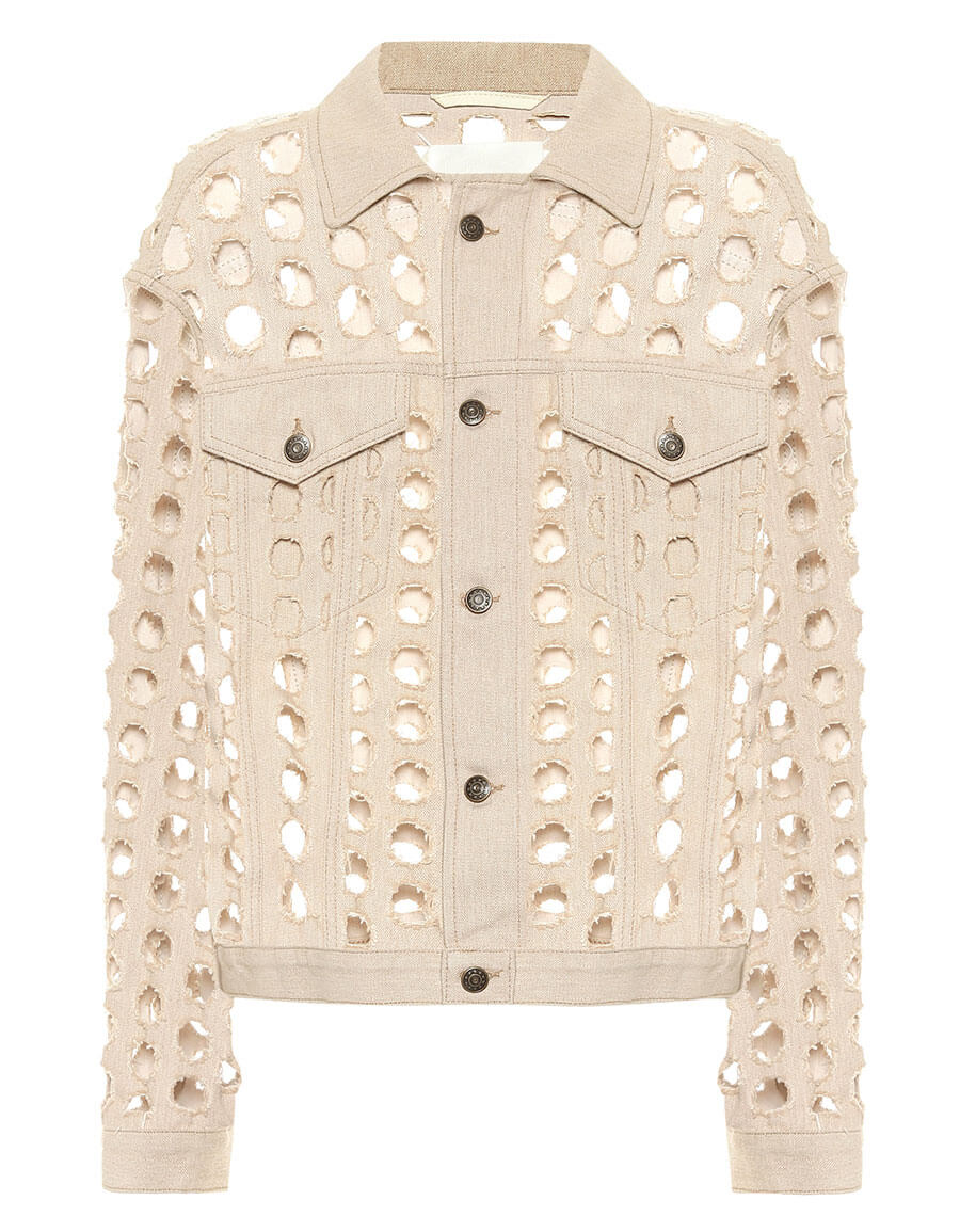 MAISON MARGIELA Perforated denim jacket