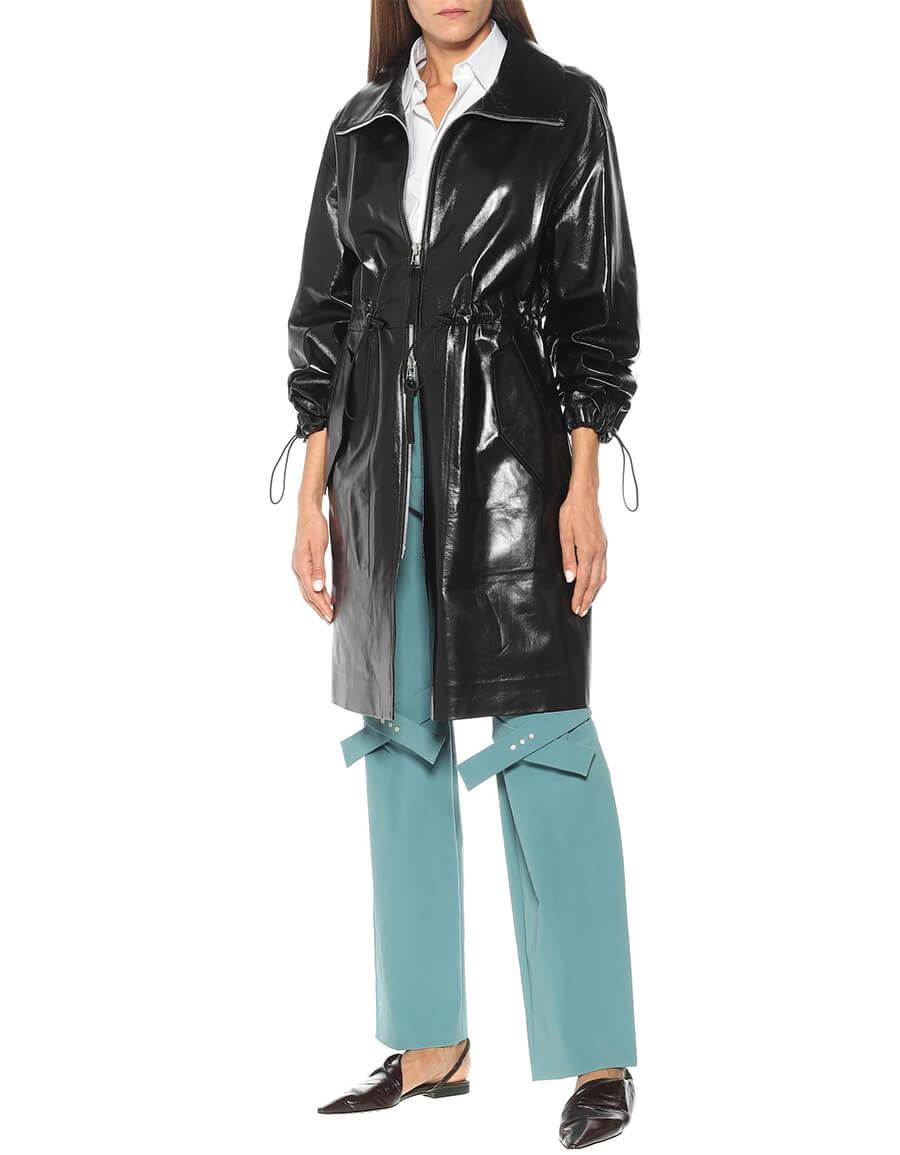 BOTTEGA VENETA Leather coat