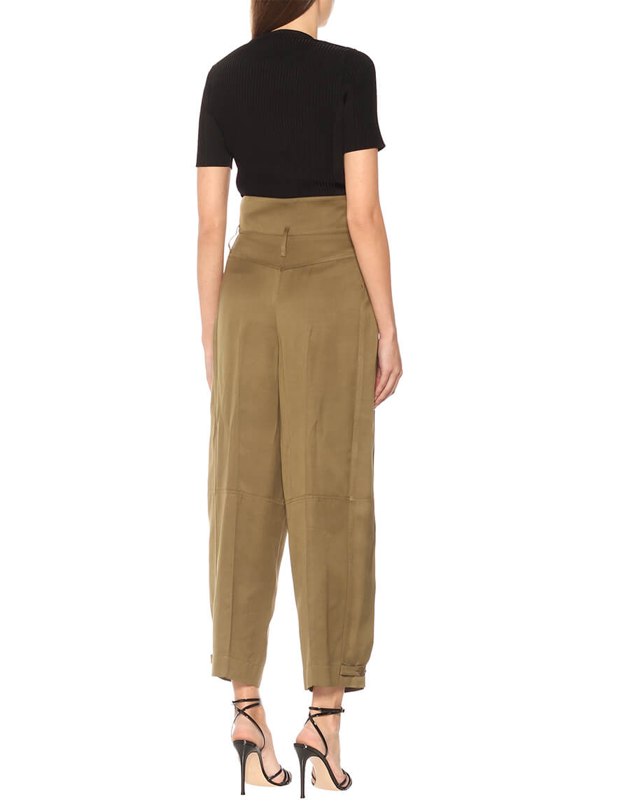 GIVENCHY High rise wide leg pants