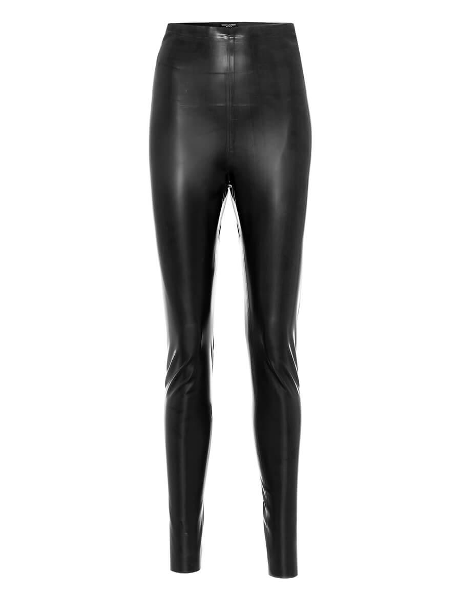 SAINT LAURENT Latex leggings