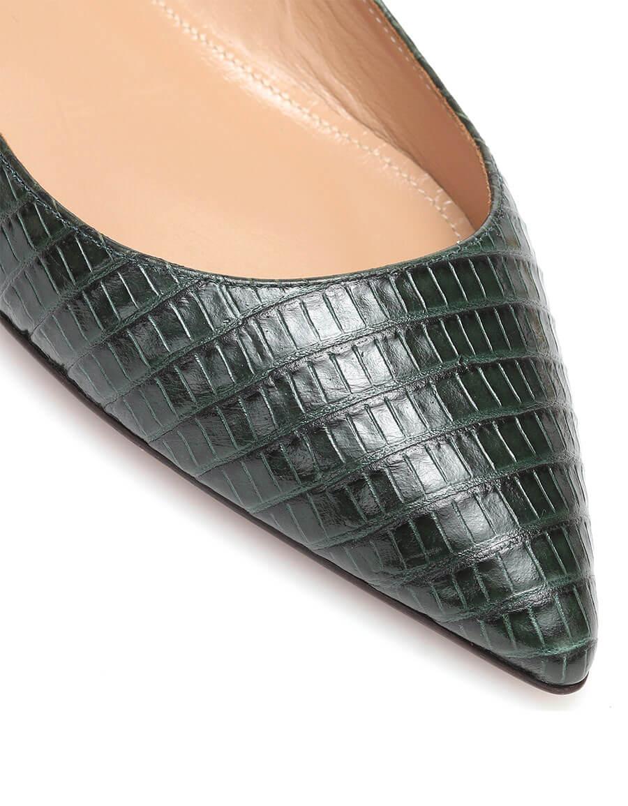 AQUAZZURA Forever Marilyn leather ballet flats