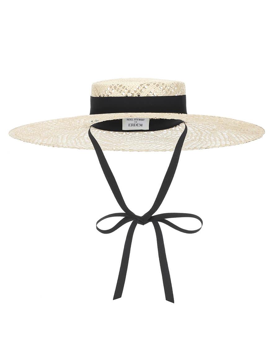 ERDEM x Noel Stewart straw hat