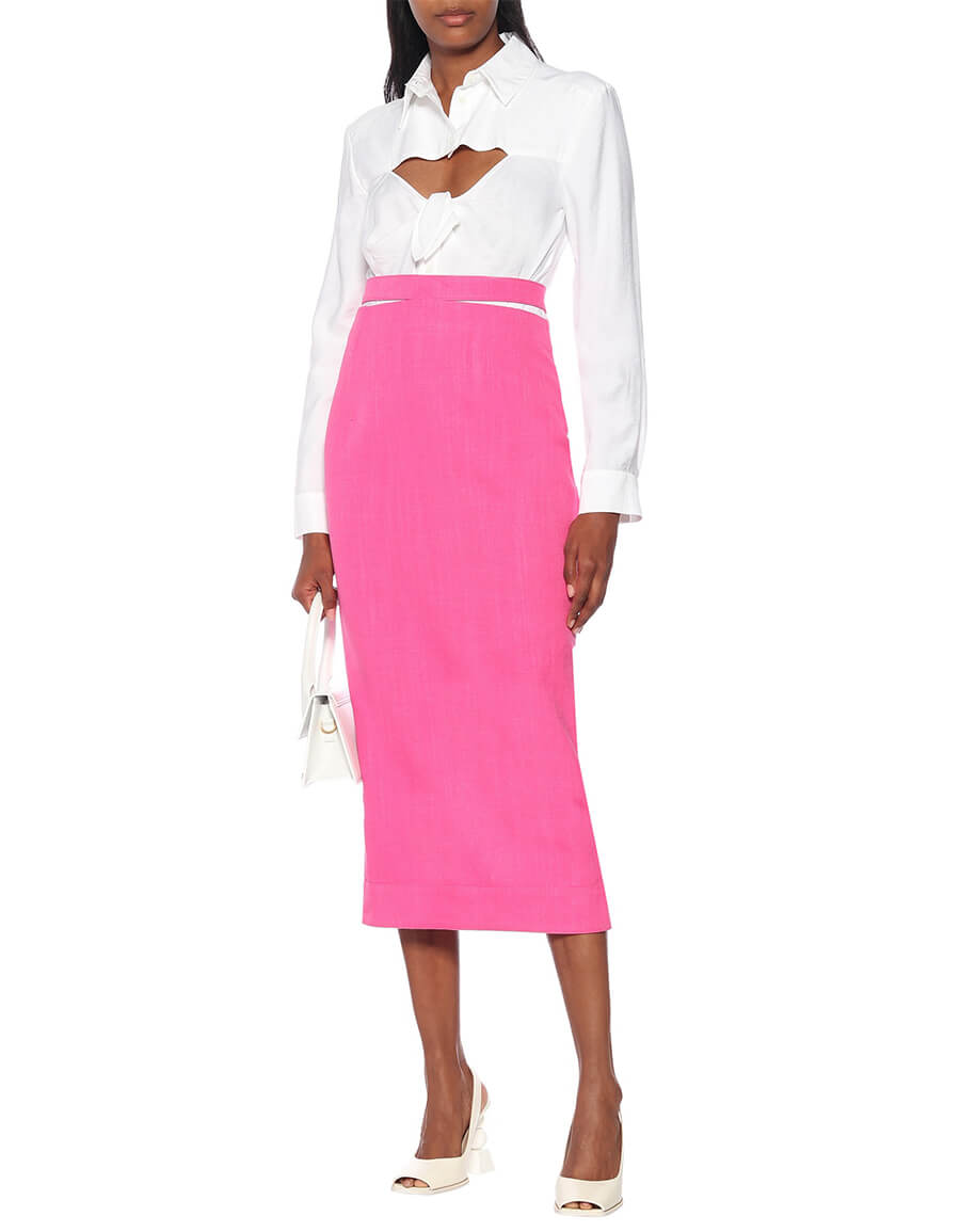 JACQUEMUS La Jupe Valerie pencil skirt