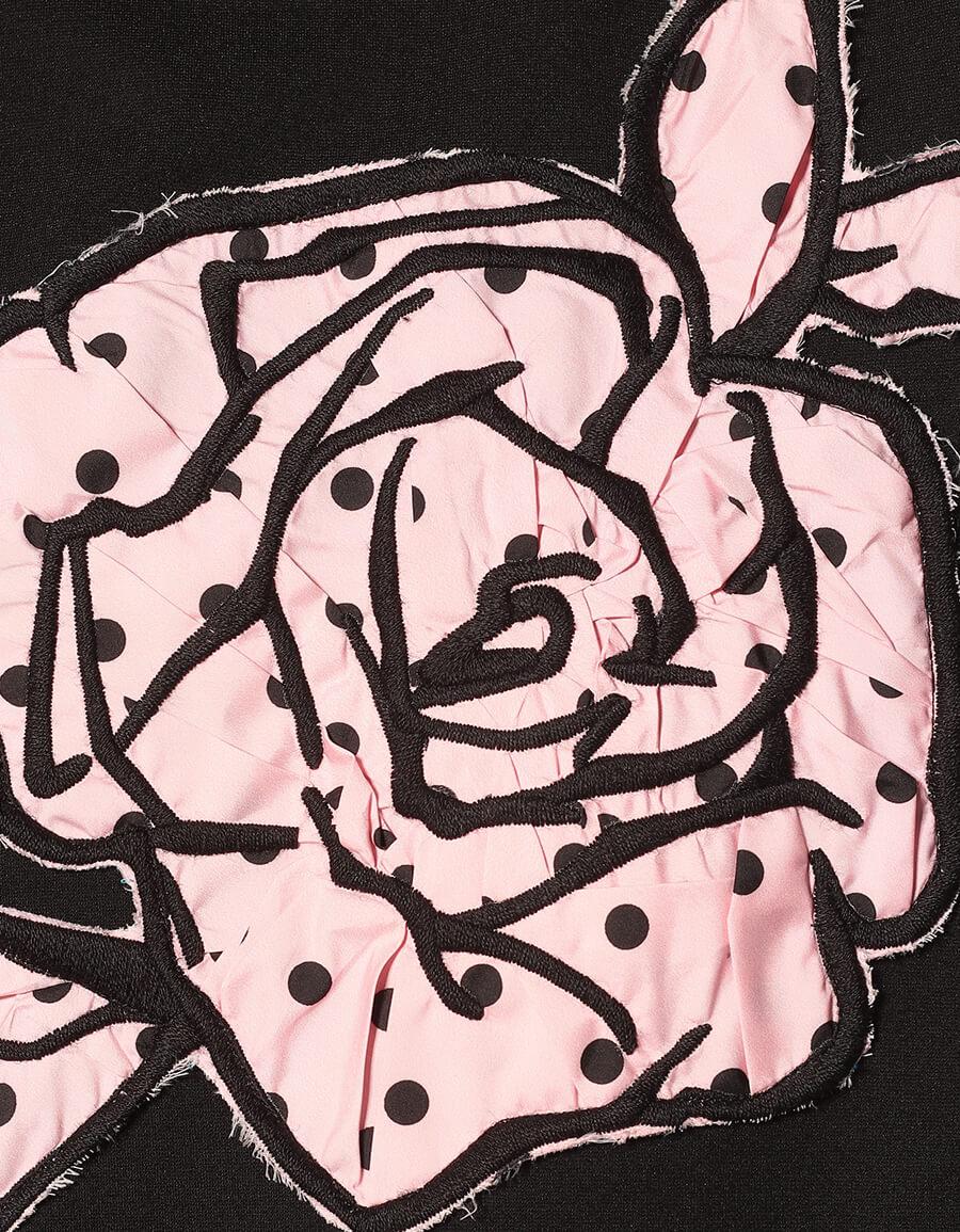 REDVALENTINO Embroidered minidress
