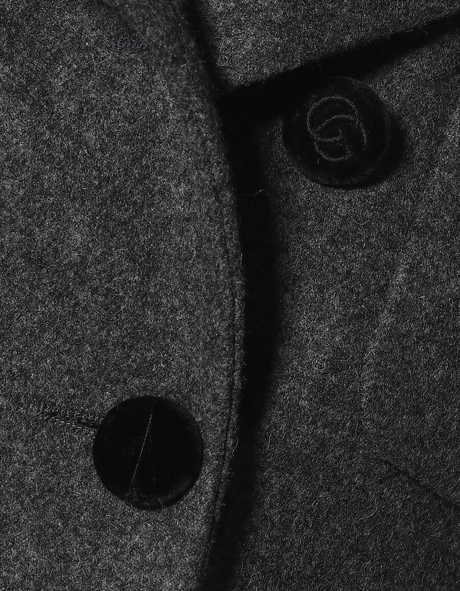 GUCCI Wool flannel coat