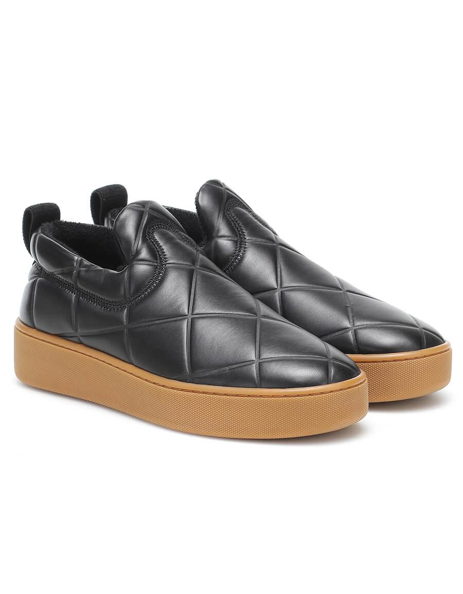 BOTTEGA VENETA Slip On leather sneakers