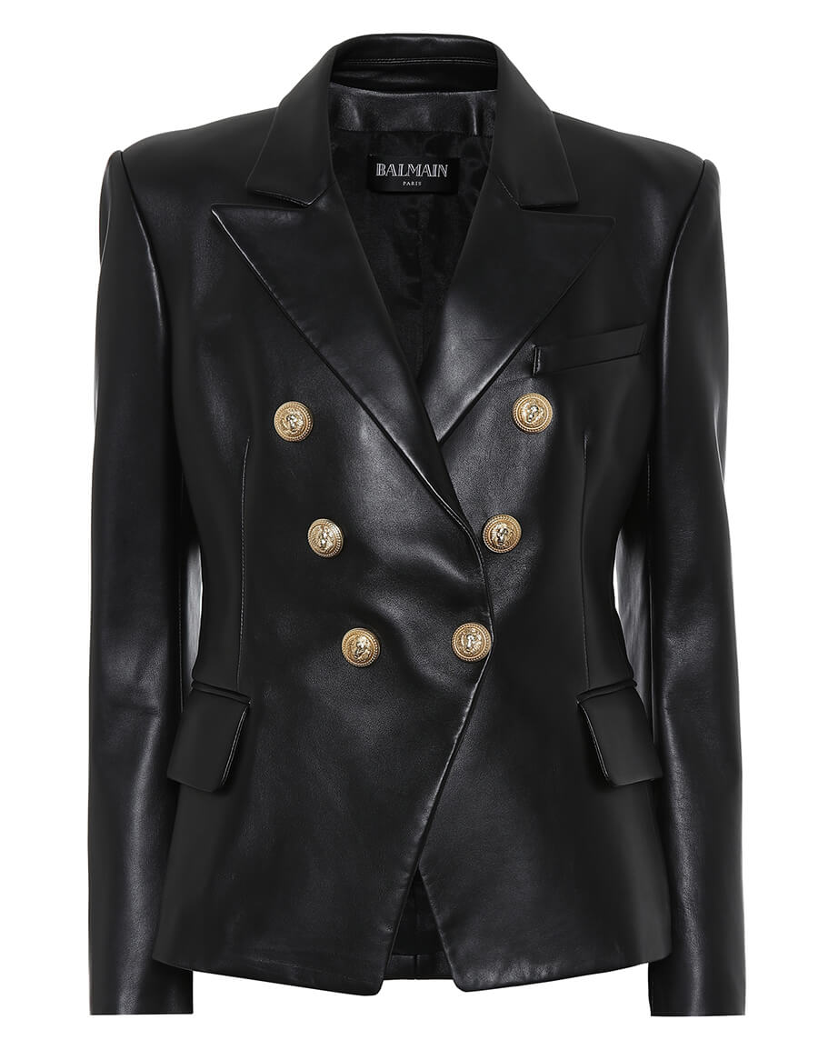 BALMAIN Leather blazer