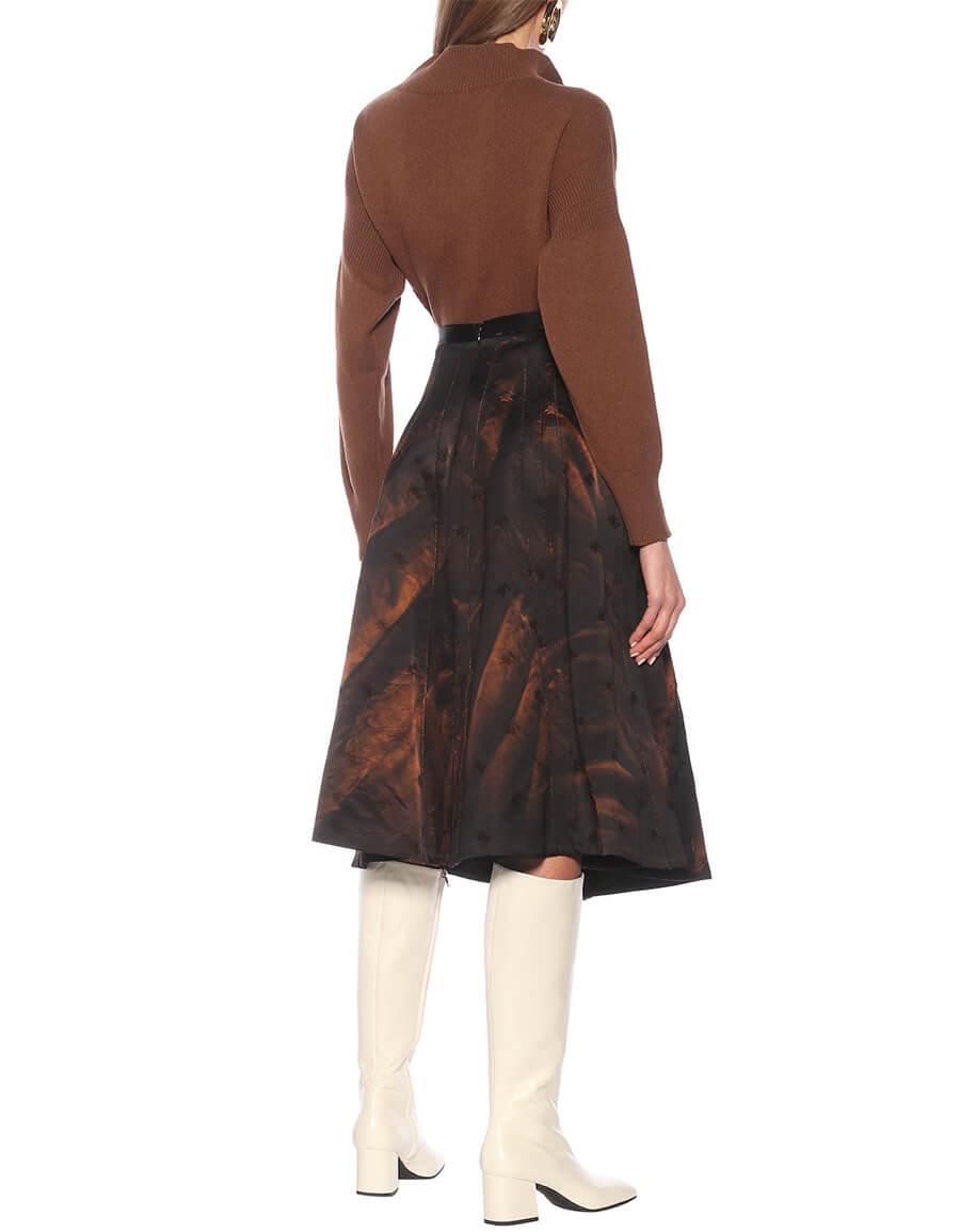 MARNI Cotton blend midi skirt