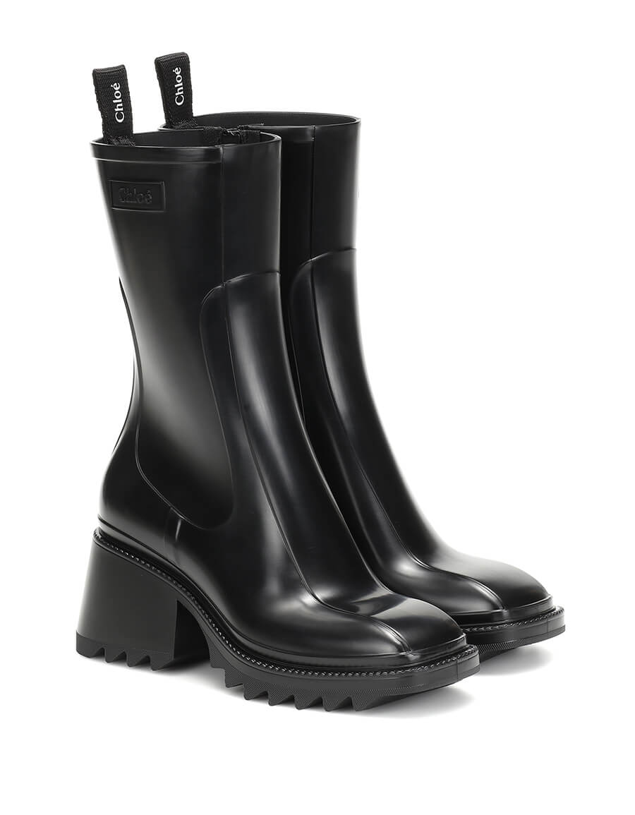 CHLOÉ Betty PVC ankle boots
