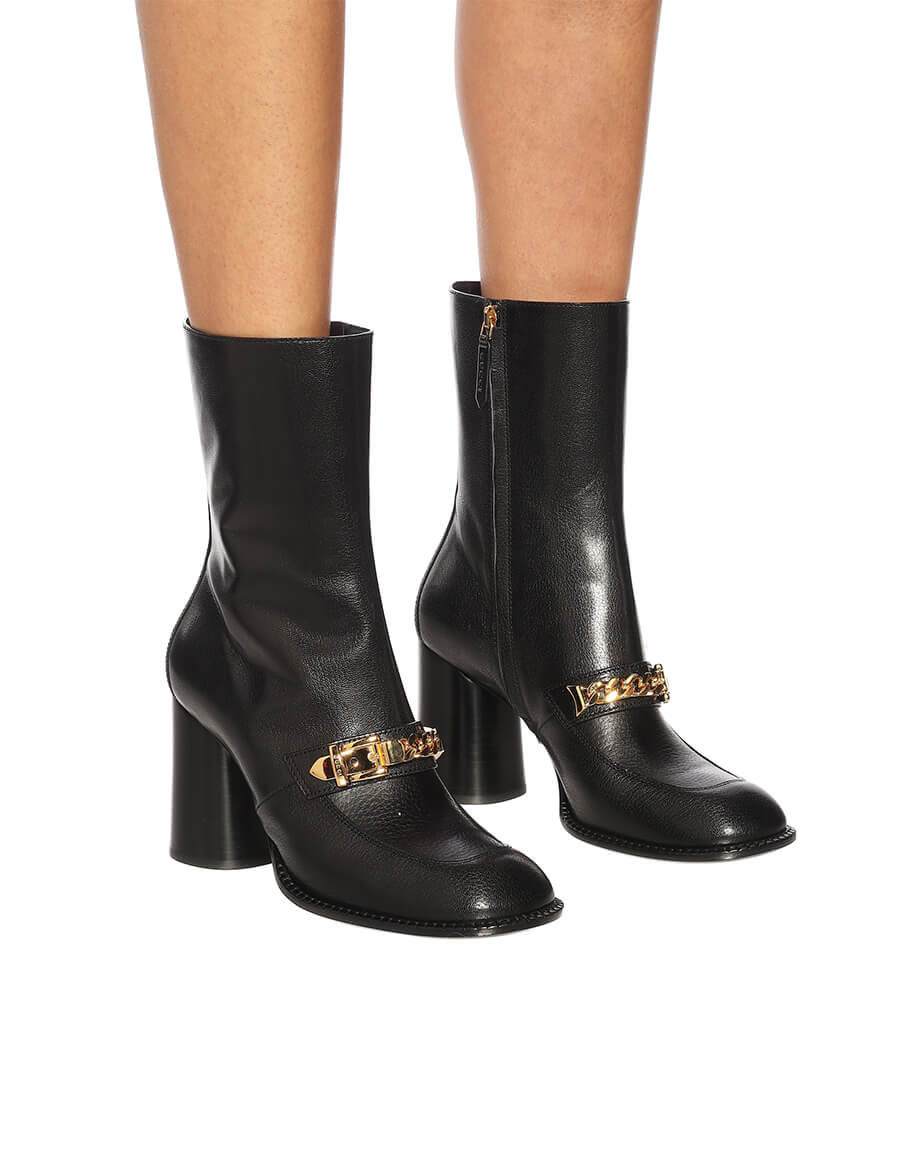 GUCCI Sylvie leather ankle boots