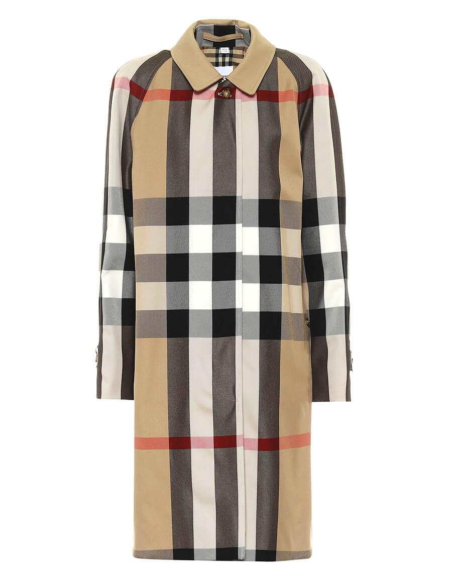 BURBERRY Camden cotton car coat