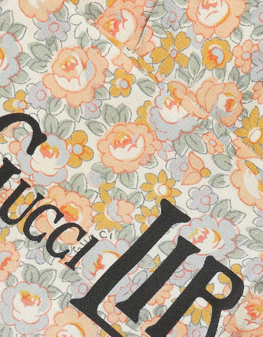 GUCCI x Liberty floral silk scarf