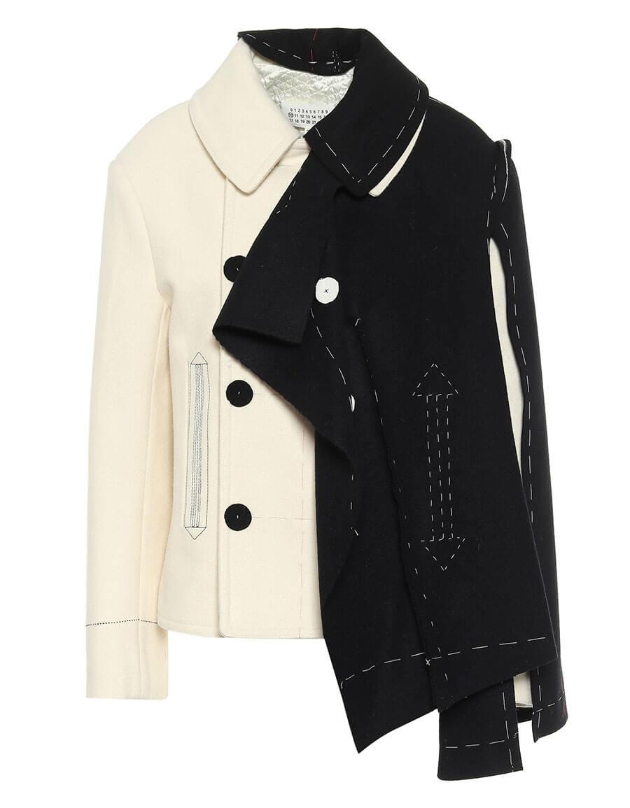 MAISON MARGIELA Deconstructed wool jacket