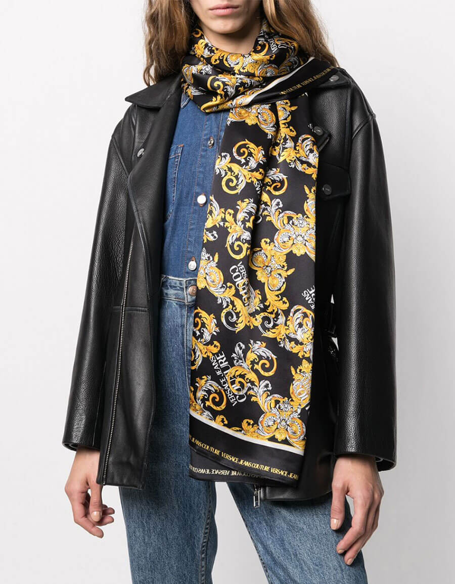 VERSACE JEANS COUTURE FOULARD