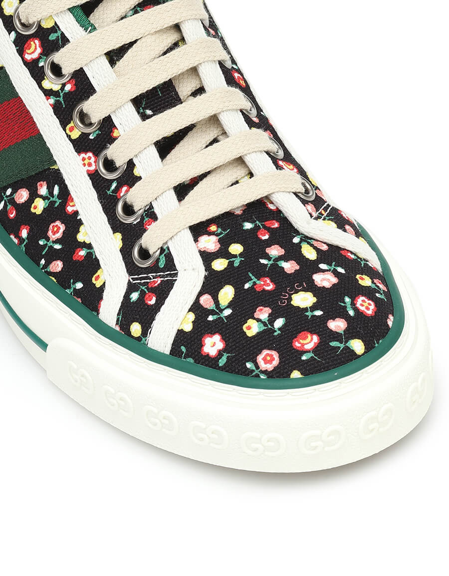 GUCCI x Liberty Tennis '77 canvas sneakers