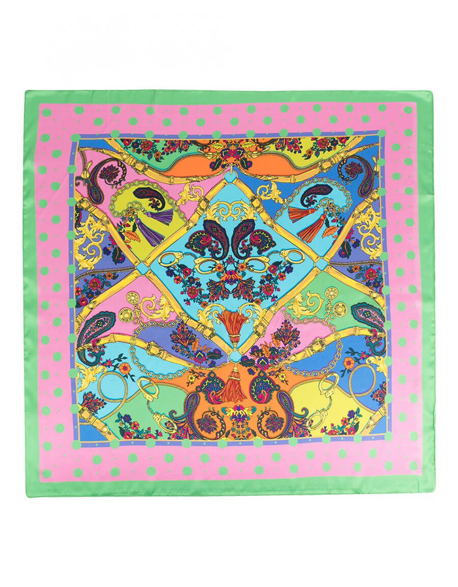 VERSACE JEANS COUTURE LOGOED SCARF