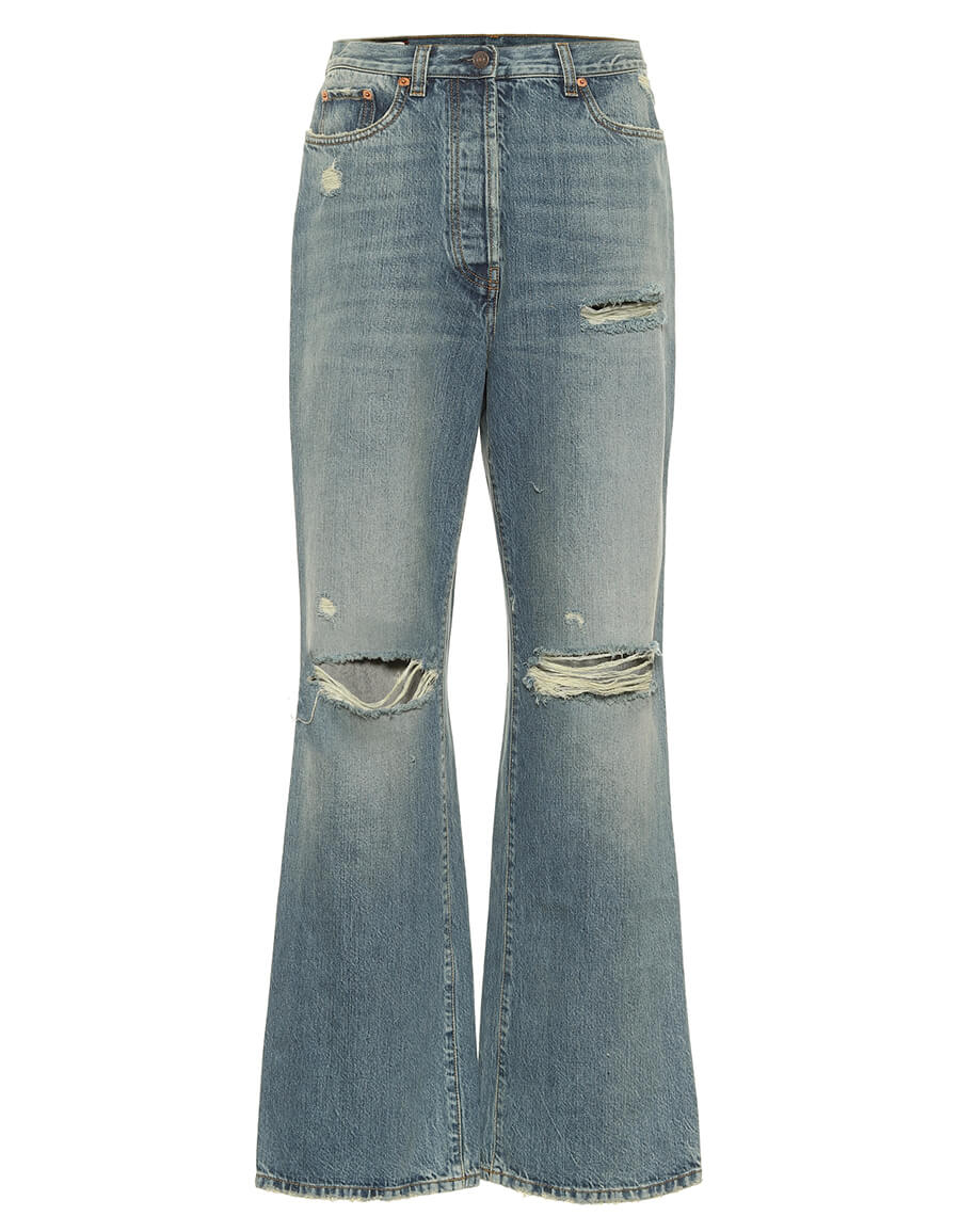 GUCCI High rise straight jeans