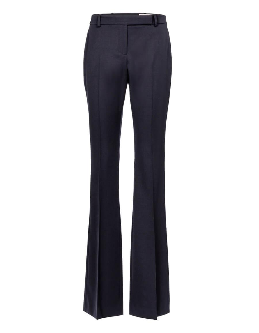 ALEXANDER MCQUEEN High rise wool bootcut pants