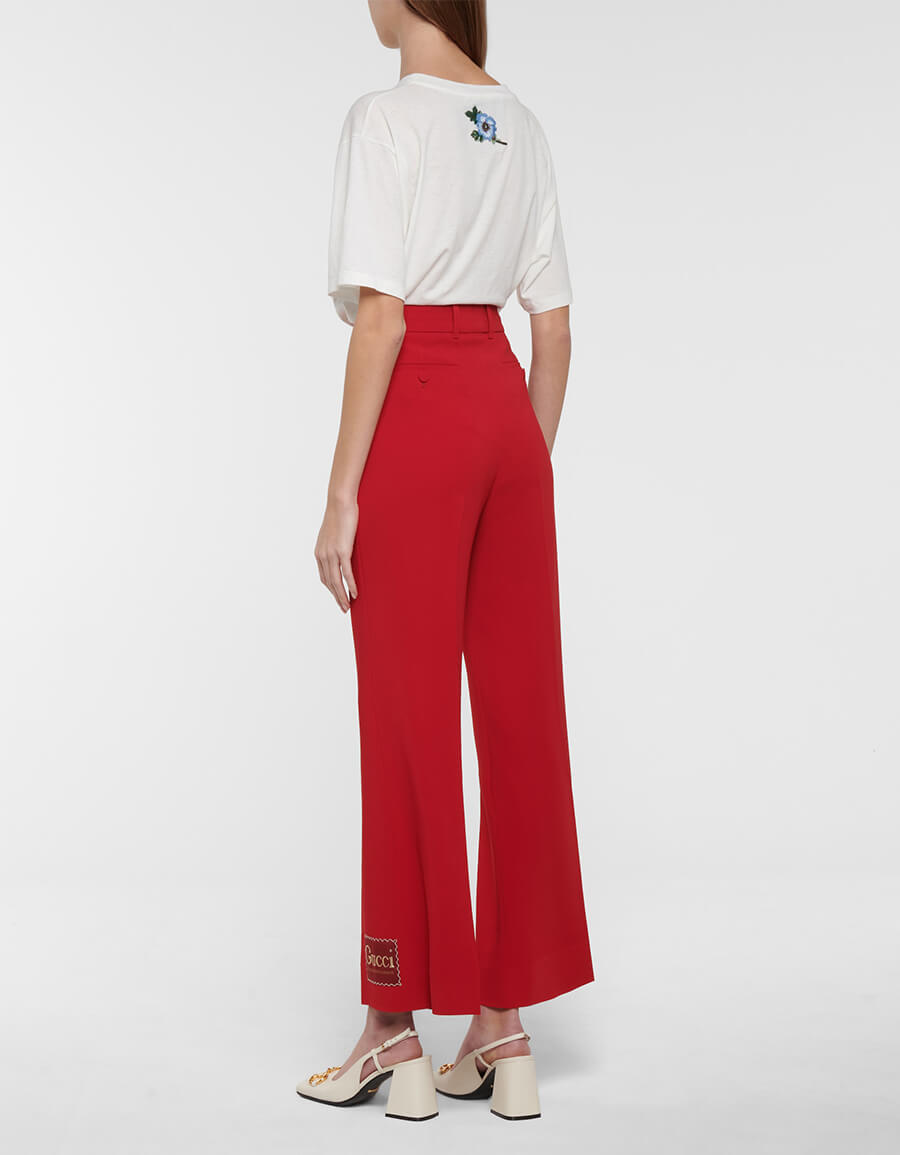 GUCCI High rise straight pants