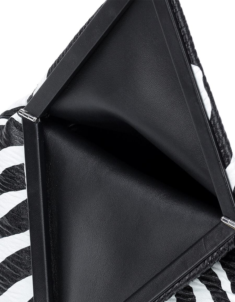 BOTTEGA VENETA BV Trine leather clutch