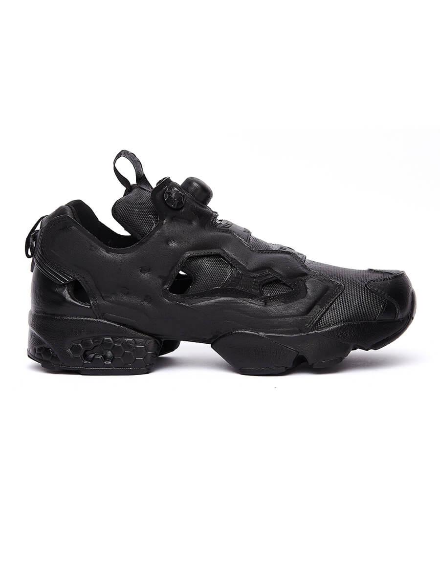 VETEMENTS Black Reebok Instapump Sneakers