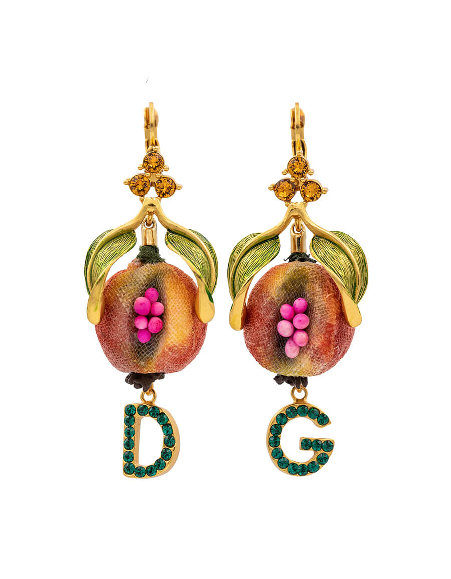 DOLCE & GABBANA Exclusive to Mytheresa – Crystal embellished earrings