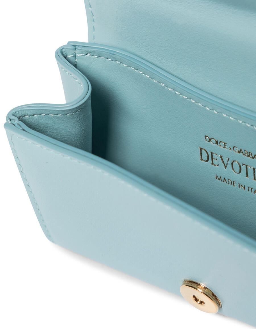 DOLCE & GABBANA Devotion Micro leather shoulder bag